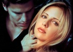 Sarah Gellar and David Boreanaz