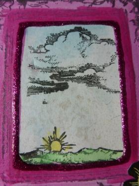 Jasní karta - scrapbook